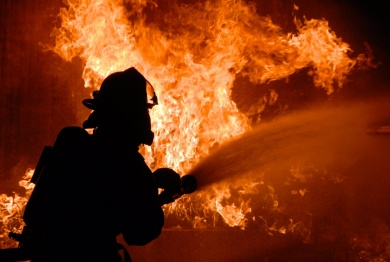 В Бобруйске при пожаре погиб мужчина