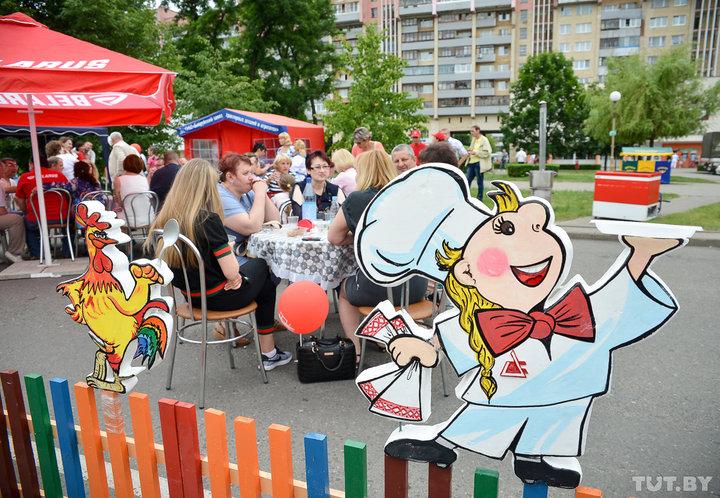 В Бобруйске прошел ежегодный фестиваль еды