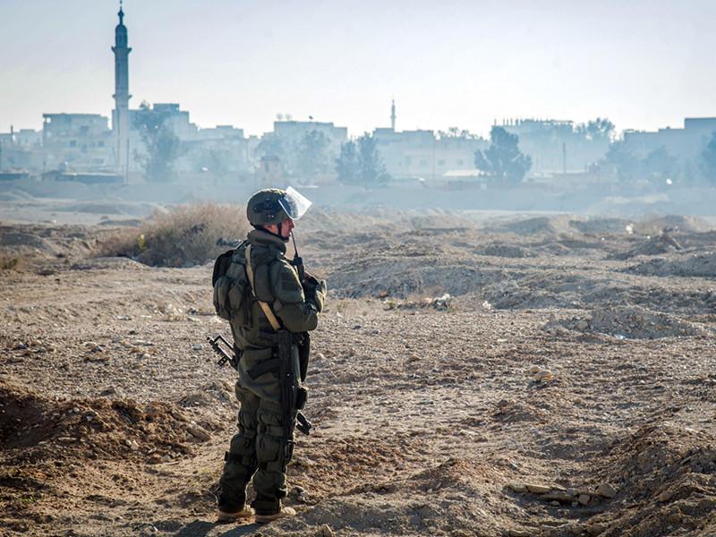 погиб российский военный в Сирии
