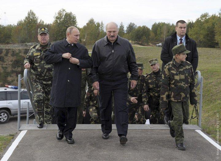 Лукашенко и Путин проинспектируют военные учения