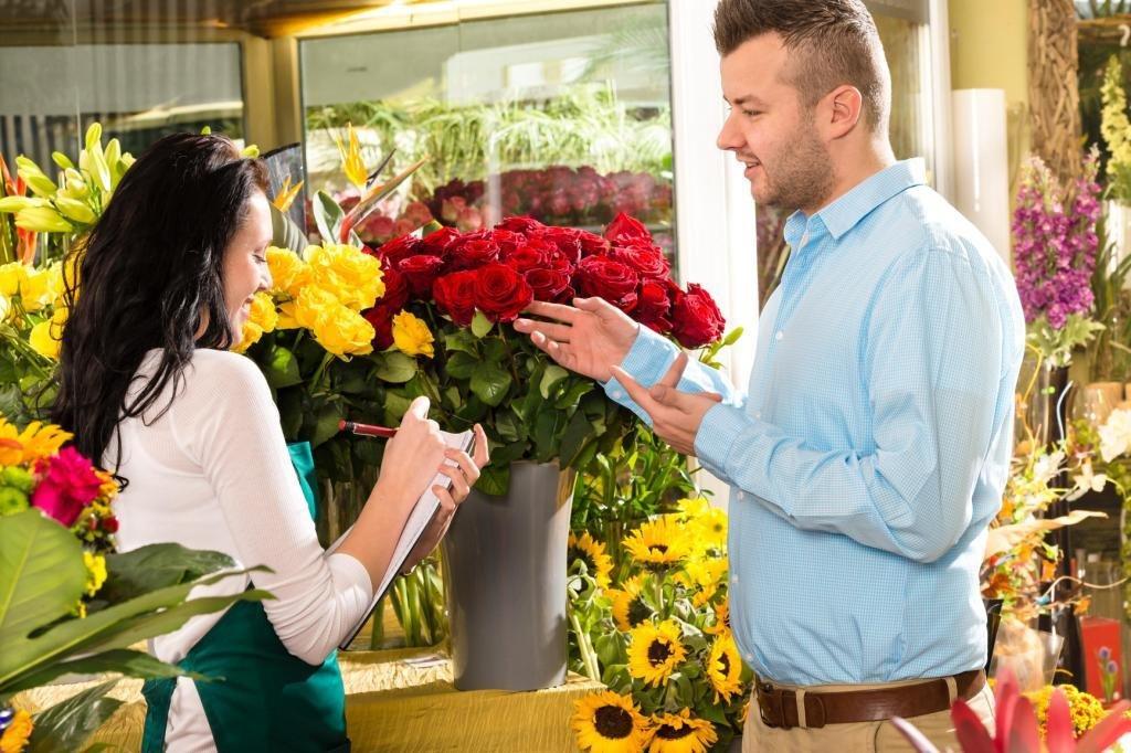 Покупайте цветы правильно