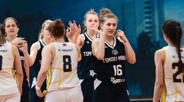 Баскетболисткам «Цмокi-Мiнск» осталось одержать одну победу до звания чемпионок Беларуси
