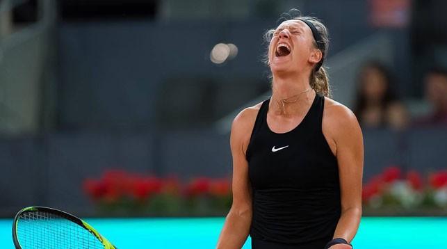 Виктория Азаренко не вышла в 2-й раунд теннисного турнира в Риме