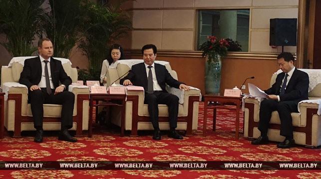 Инвестирование в Беларусь из китайской провинции Хубэй возрастет — первый вице-губернатор