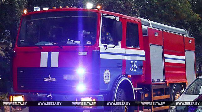 Троллейбус загорелся в центре Бреста
