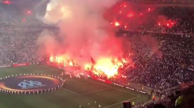 В Лионе арестован 21 болельщик после финала Лиги Европы