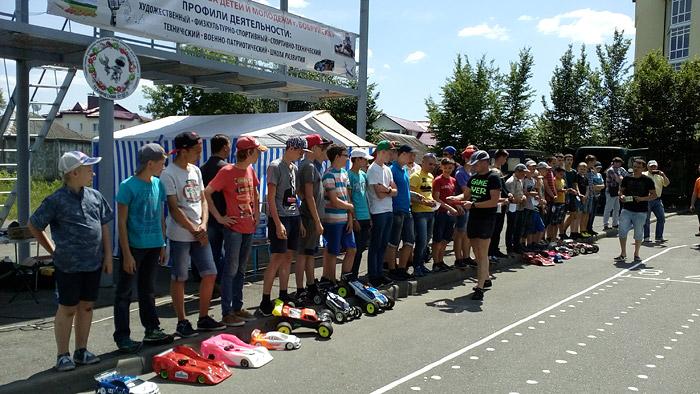 соревнования по автомодельному спорту в Бобруйске