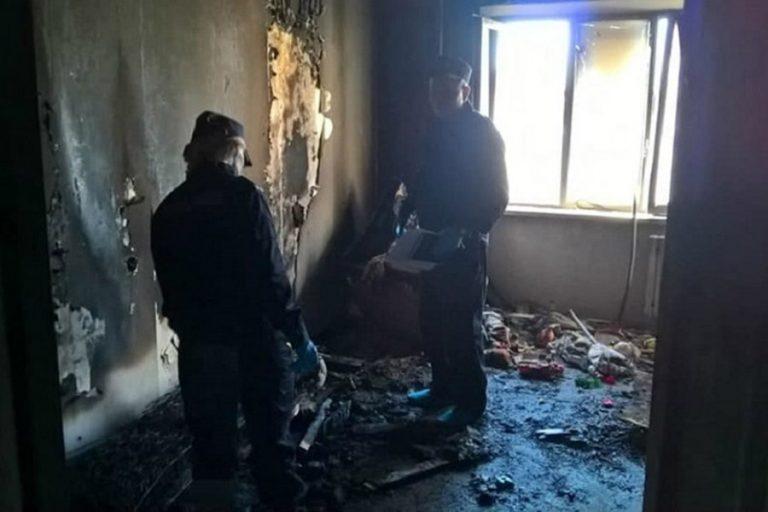 Гибель детей при пожаре в Бобруйске