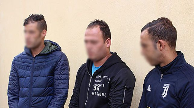 Пограничники задержали трех граждан Алжира в Пинском районе