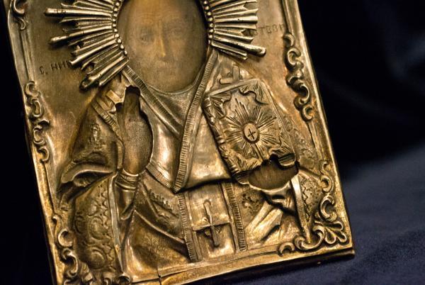 Старинные серебряные иконы