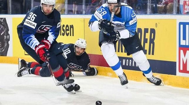 Сборная США победила в овертайме Финляндию на чемпионате мира по хоккею