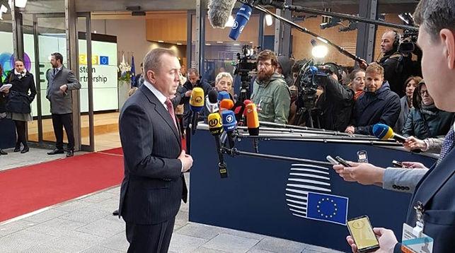 Макей рассказал, почему Лукашенко не поехал в Брюссель на саммит «Восточного партнерства»