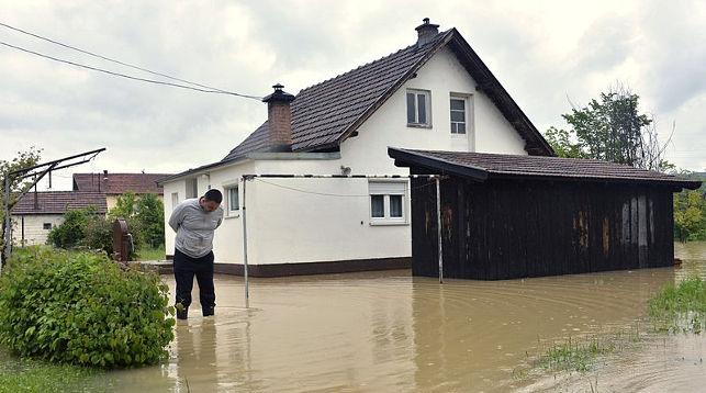 Проливные дожди в Боснии и Герцеговине спровоцировали наводнение
