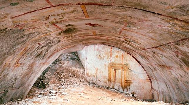 Во дворце Нерона обнаружили тайную комнату Сфинкса