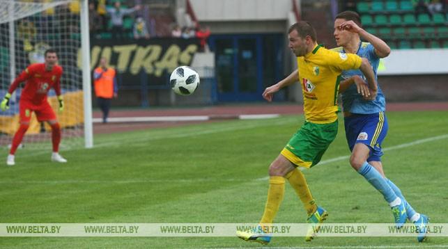 БАТЭ победил «Неман», «Энергетик-БГУ» сыграл вничью с «Минском» в 8-м туре чемпионата Беларуси по футболу