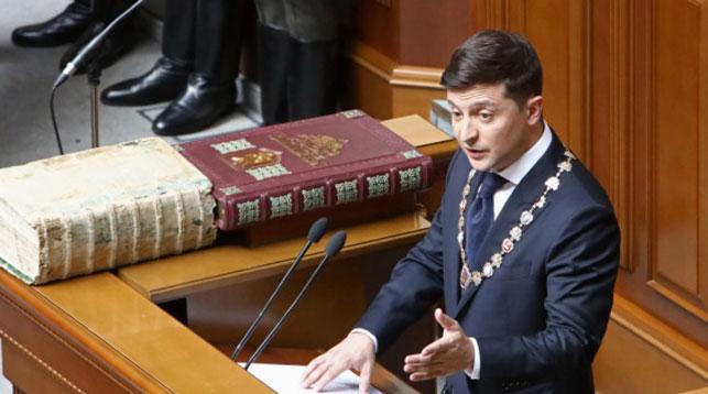 Владимир Зеленский произвел первые кадровые назначения