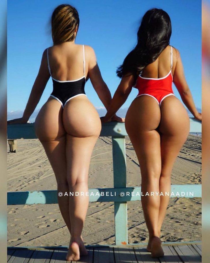 Девушки с большими попами – 160 фото девушек сзади