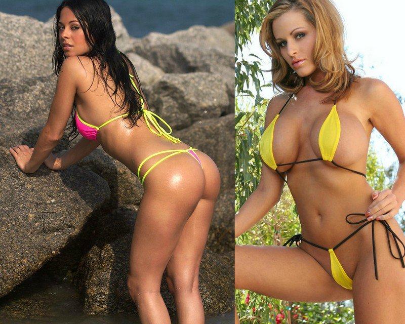 Девушки в купальниках - 150 фото девушек в микро и мини бикини