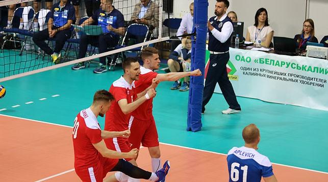 Белорусские волейболисты обыграли Финляндию во втором туре Евролиги
