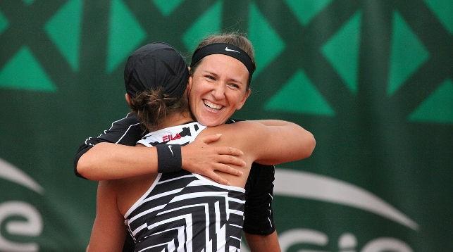 Азаренко и Барти победили в матче 1/32 финала парного разряда на «Ролан Гаррос»