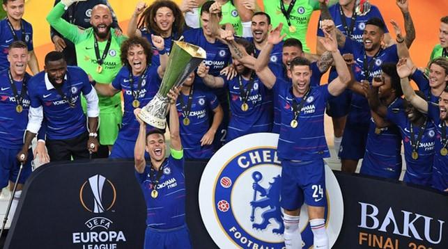 Лондонский «Челси» во второй раз стал победителем Лиги Европы, разгромив «Арсенал»