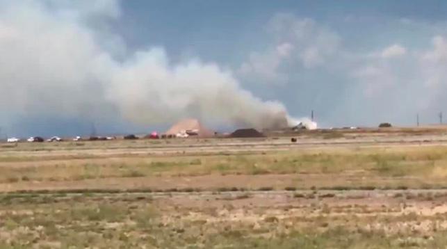 При взрыве на складе фейерверков в Нью-Мексико пострадали 12 человек