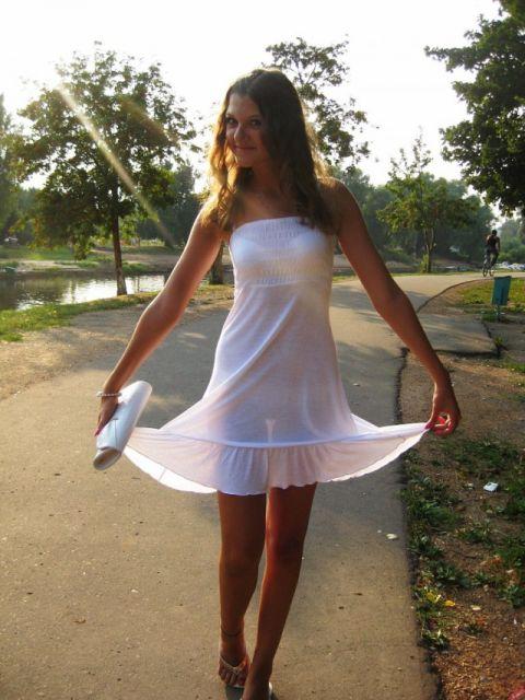 девушки в белом нижнем белье