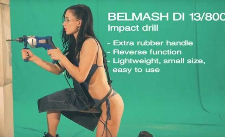 БелМаш позволил женщинам работать в купальниках