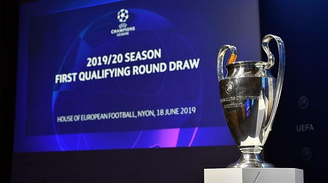 БАТЭ сыграет с польским «Пястом» в 1-м раунде квалификации Лиги чемпионов