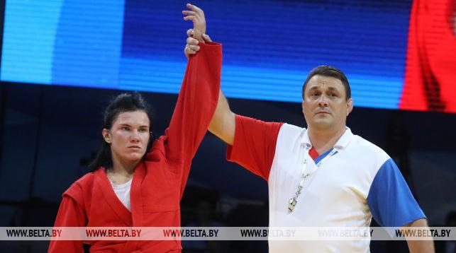Белорусская самбистка Анжела Жилинская стала чемпионкой II Европейских игр