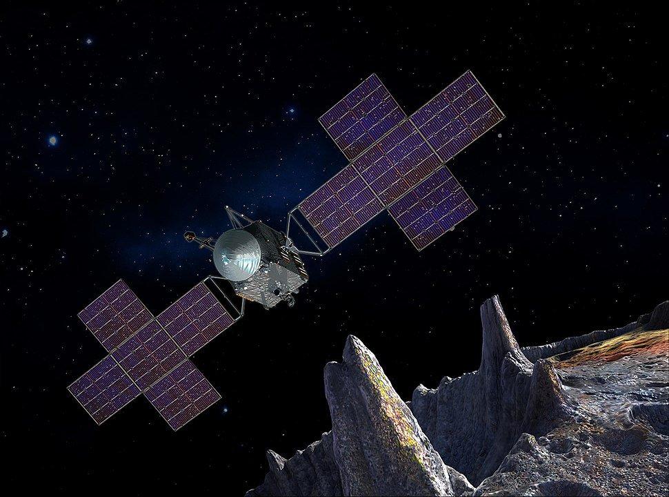 К золотому астероиду стоимостью $10 000 квадриллионов полетит аппарат NASA