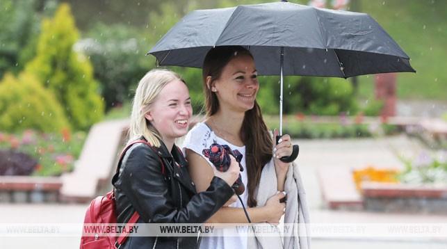 К выходным в Беларуси потеплеет