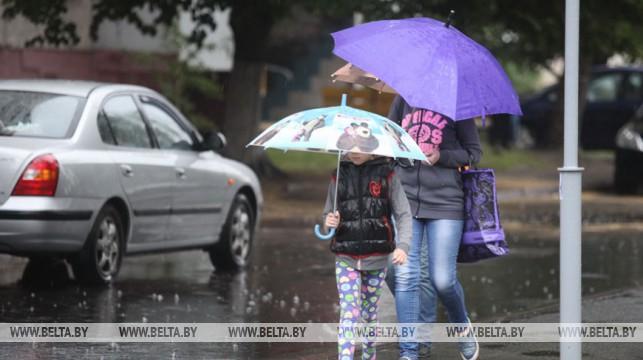 Дождливая погода и +29°С ожидается в Беларуси 27 июля