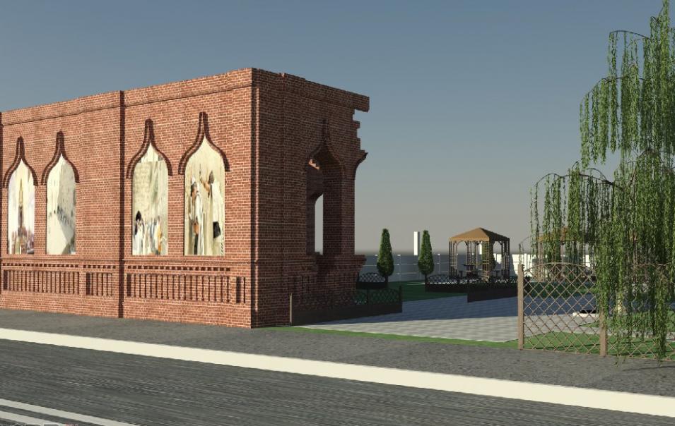 Еврейский дворик откроют в Бобруйске 4 августа