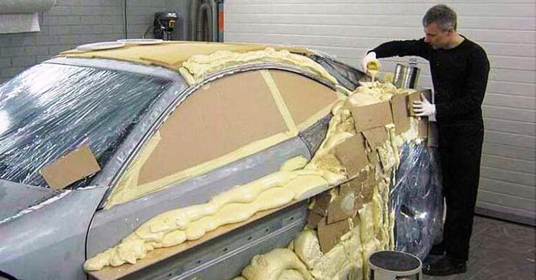 Создал крутой спортивный автомобиль своими руками