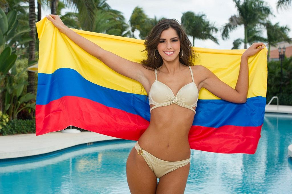 Колумбия - самые красивые женщины мира