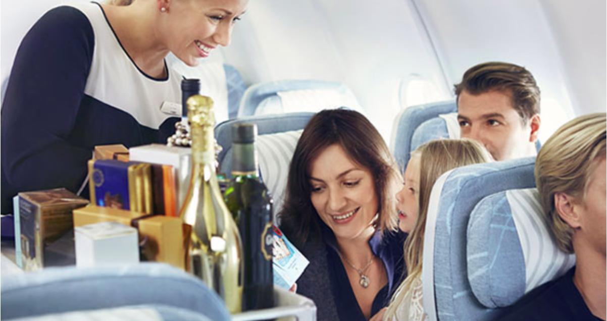 в самолетах разрешат торговать беспошлинными товарами из магазинов duty free