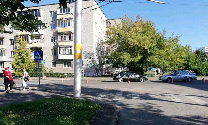 В Бобруйске «Ниссан» сбил 9-летнюю девочку на переходе