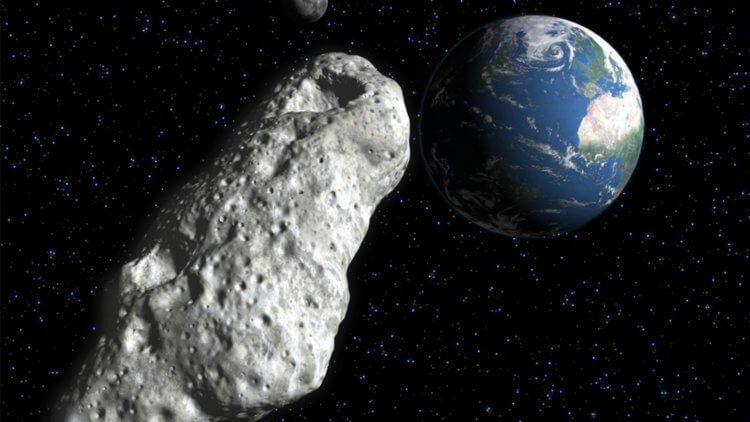 астероид размером с небоскреб