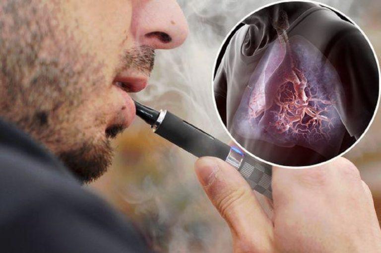 смерть от неизвестной болезни, которую связывают с электронными сигаретами