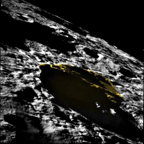 Треугольный НЛО на Луне взбудоражил ученых