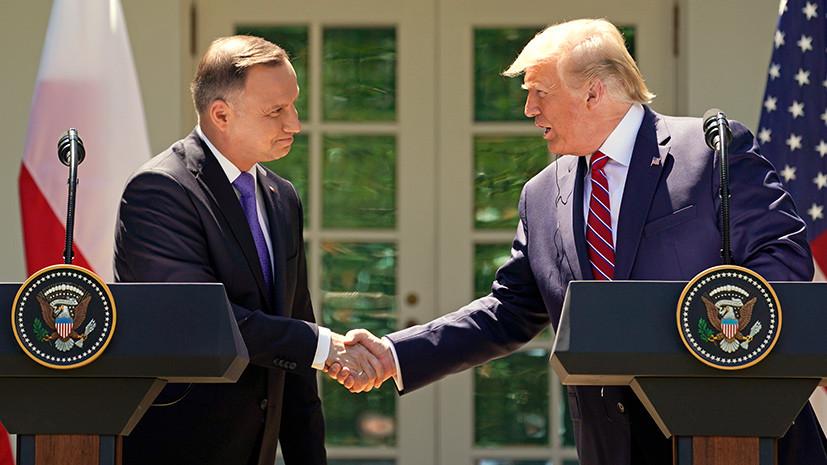 Трамп подписал «безвиз» для поляков