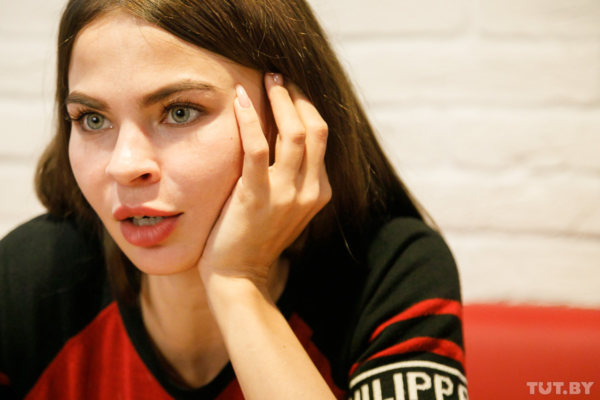 В Минск приехала скандально известная бобруйчанка Настя Рыбка