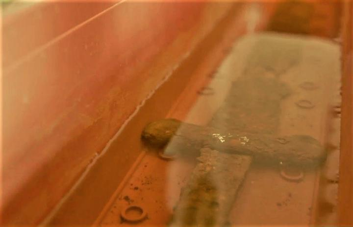 Еще один артефакт нашли в Бобруйске. Это меч середины XIII века