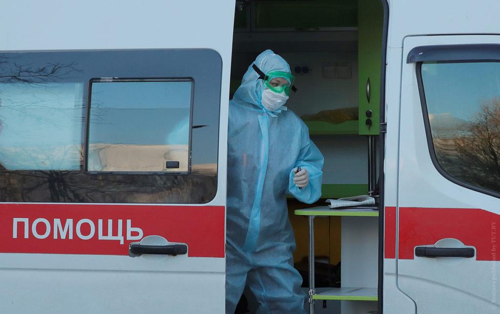 В Беларуси 33371 случай коронавируса