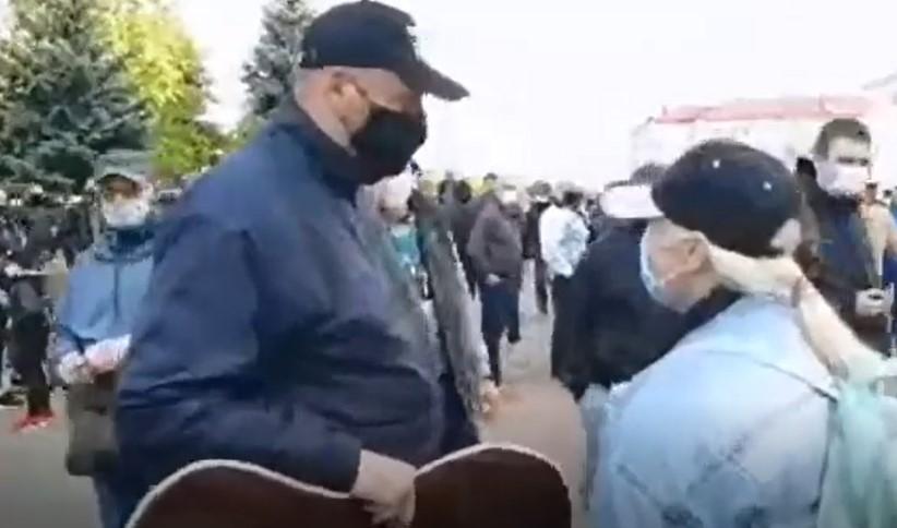 задержание Тихановского