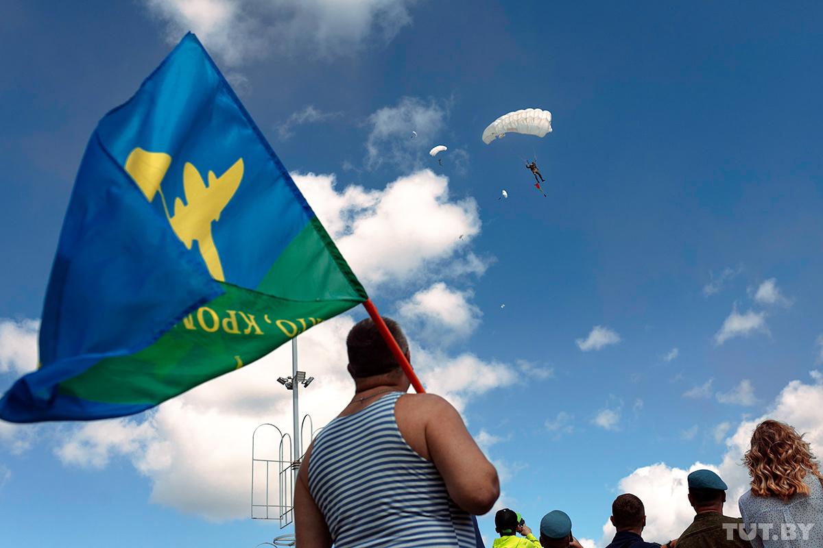 Как в Минске 2 августа отметили День ВДВ