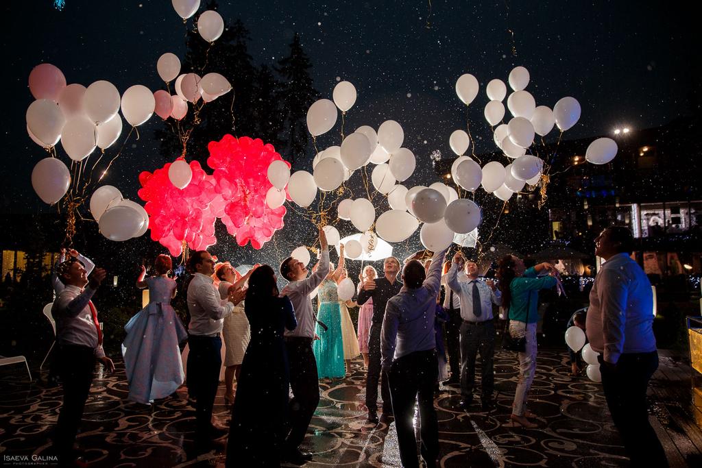 Свадебный вечер