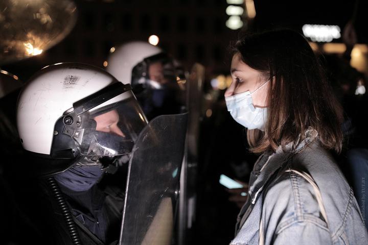 Протесты из-за запрета абортов в Польше