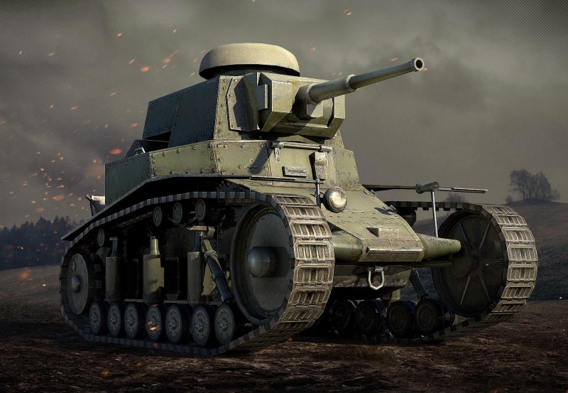 World of Tanks танк МС-1